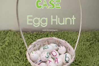 Upper & Lower Case Egg Hunt