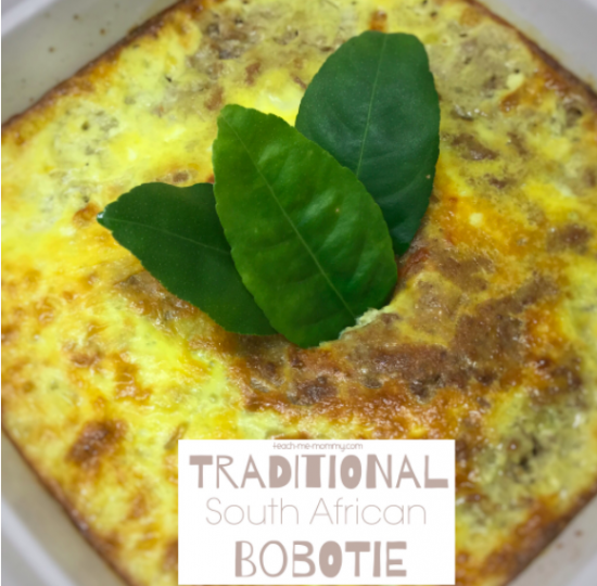 South African Bobotie