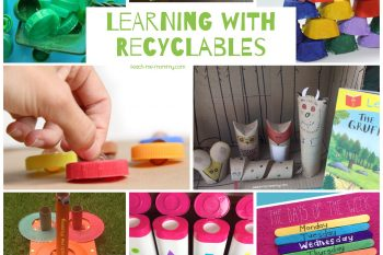 Learning Activities using Recyclables