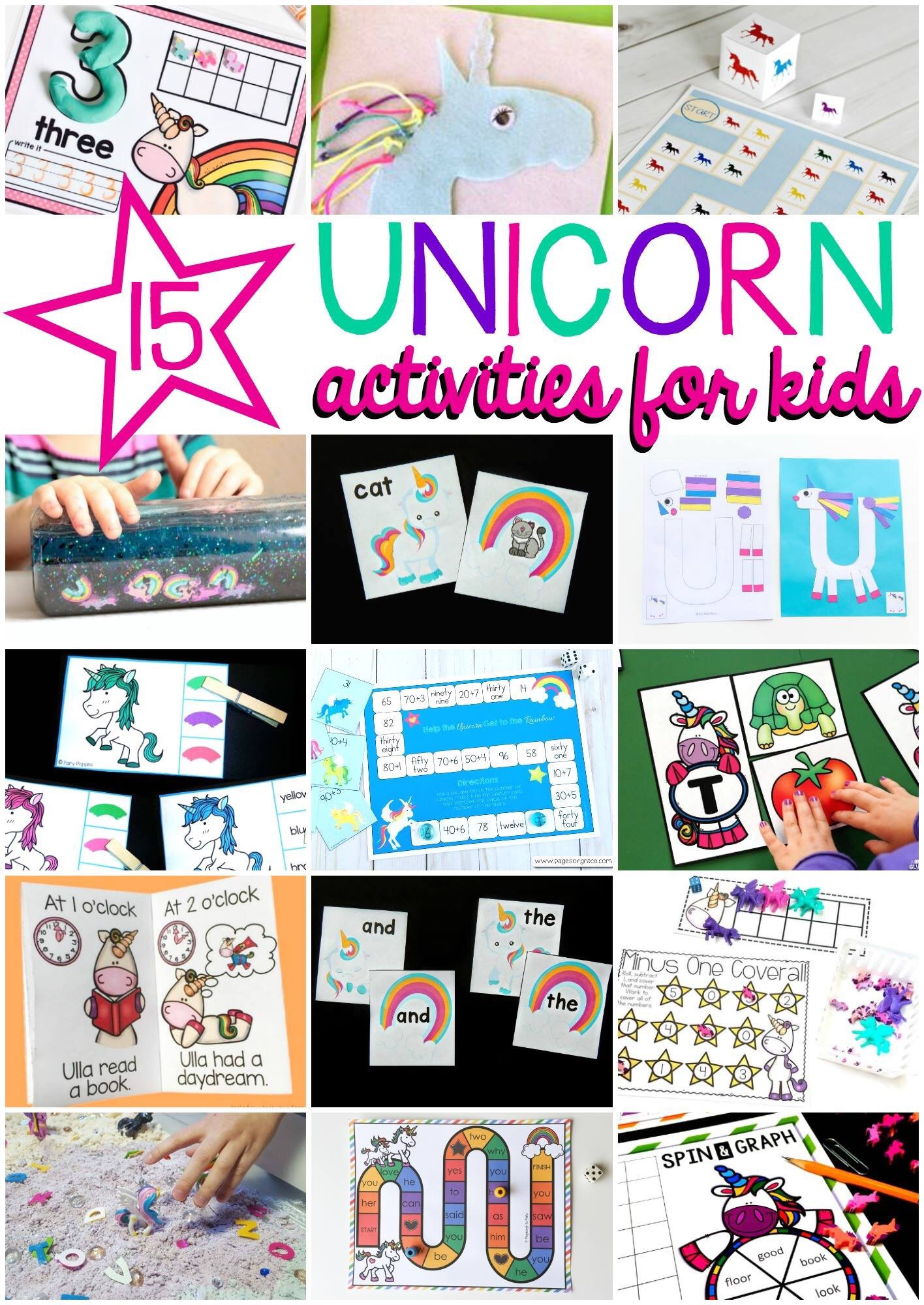 Unicorn activities