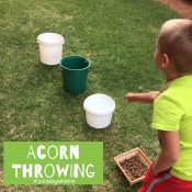 Acorn Throwing