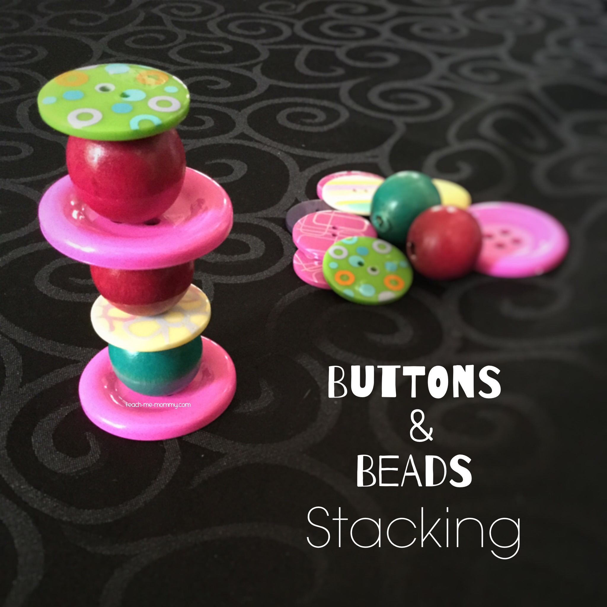 Buttons & Beads Stacking