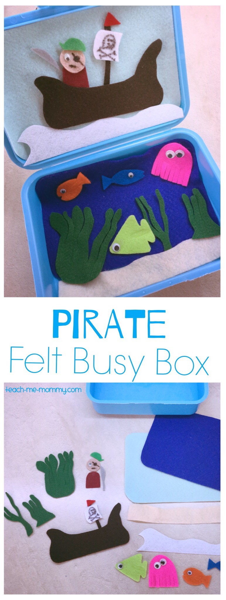 Pirate busy box