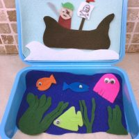 Pirate Felt Busy box