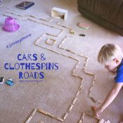 Cars and Clothespins