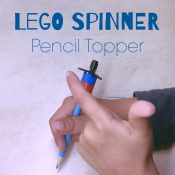 Lego Spinner pencil topper