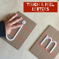 Touch Feel Letters
