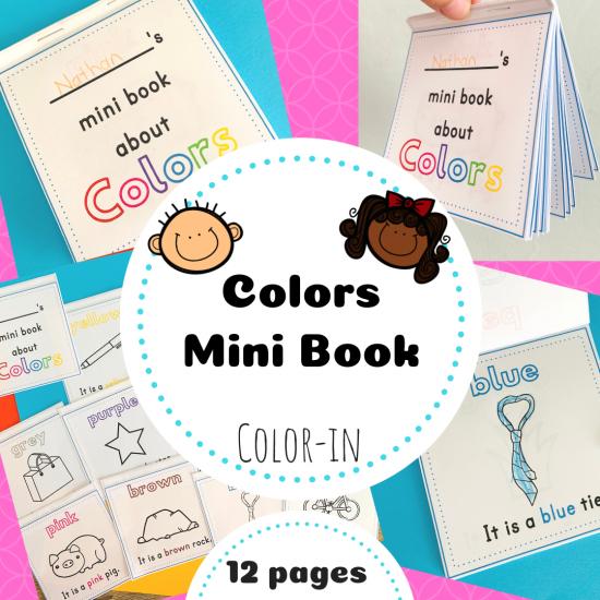 Color mini book