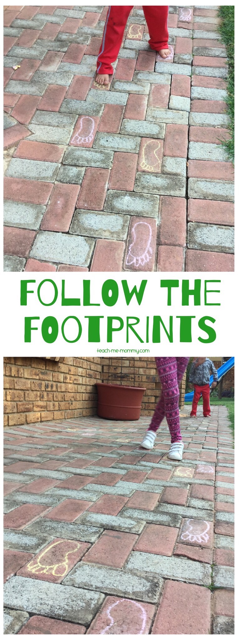 Follow the footprints
