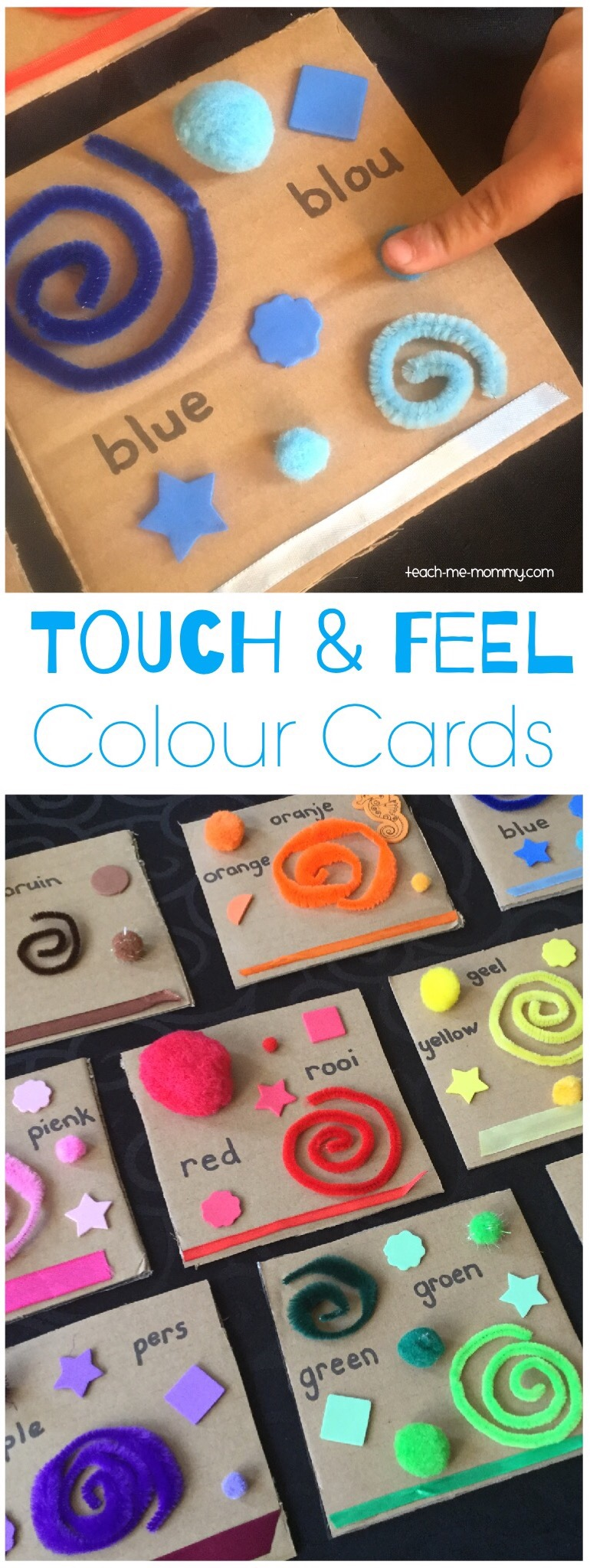 Touch & feel colours