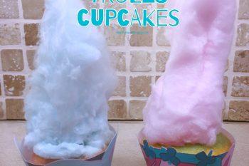 Easy Trolls Cupcakes