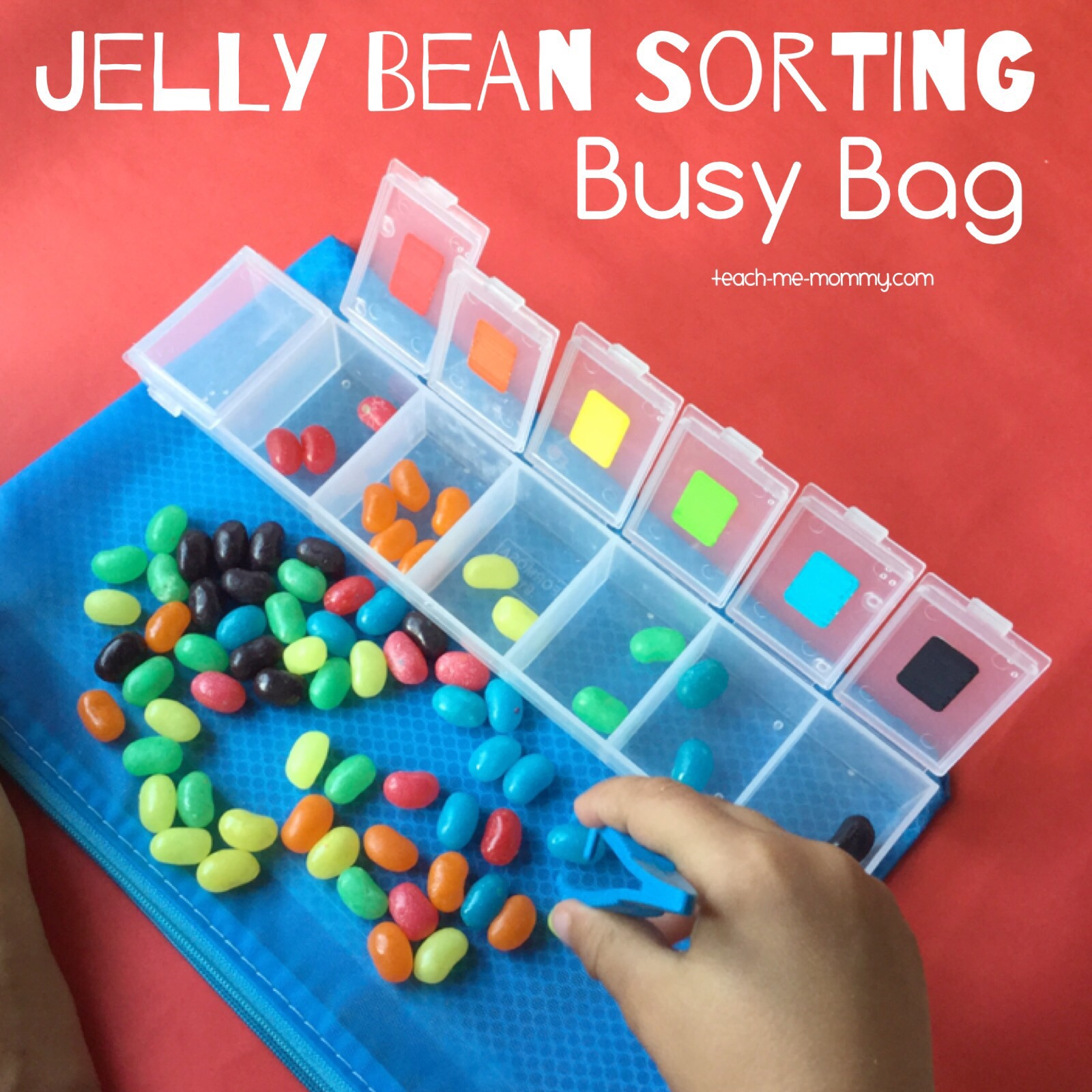 Jelly bean sorting