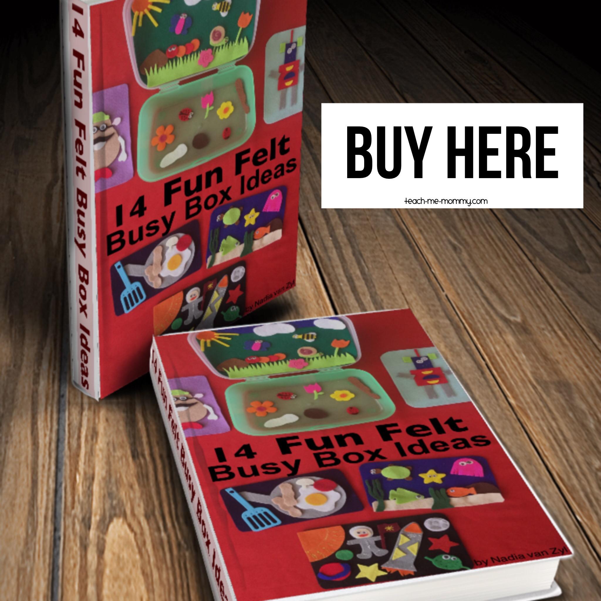 Busy Box Ideas book