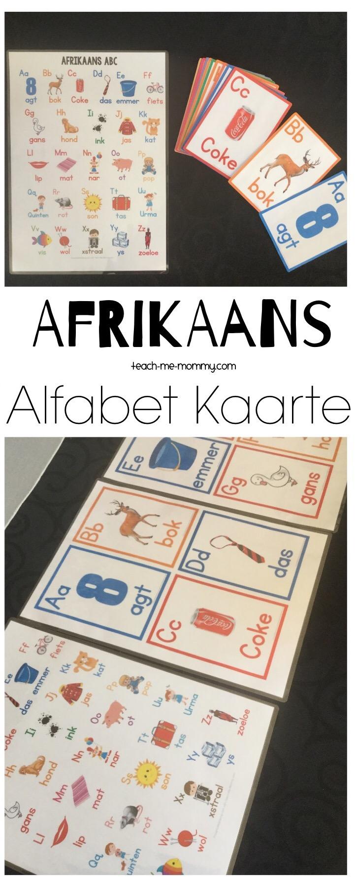 Afrikaanse Kaarte