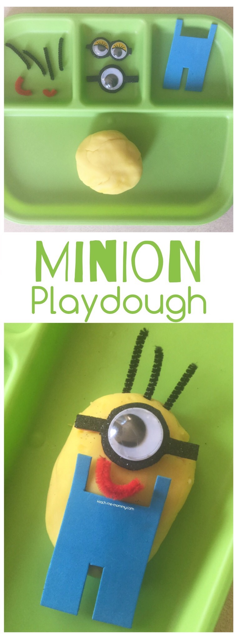 Minion Playdough