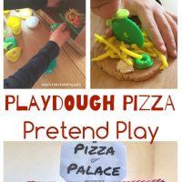 Pizza pretend play