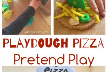 Playdough Pizza Pretend Play