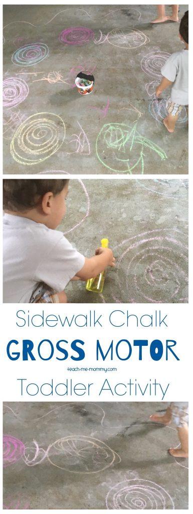 Chalk gross motor