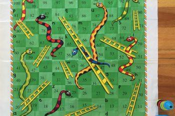 Alphabet Snakes & Ladders