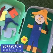 Scarecrow busy box