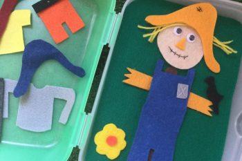Scarecrow Busy Box