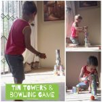 Tin Towers & Bowling Game