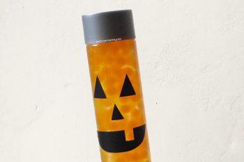 Waterbeads Jack-o-Lantern Sensory Bottle