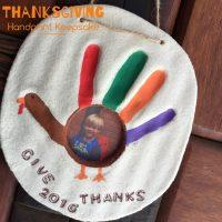 Thanksgiving keepsake