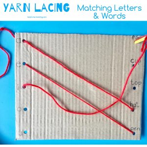 Matching words & letters