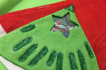 Christmas Tree Handprint Keepsake