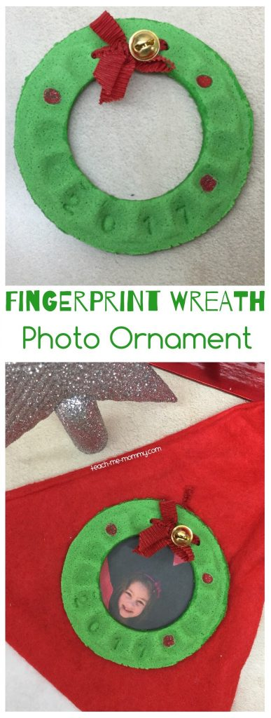 Fingerprint wreath