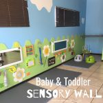 Sensory Wall for Baby & Toddler