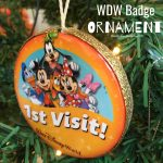 Disney Badge Ornament