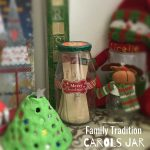 Carols Jar  Christmas Family Tradition
