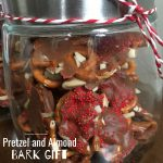 Pretzel and Almond Bark Gift