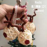 Rustic reindeer
