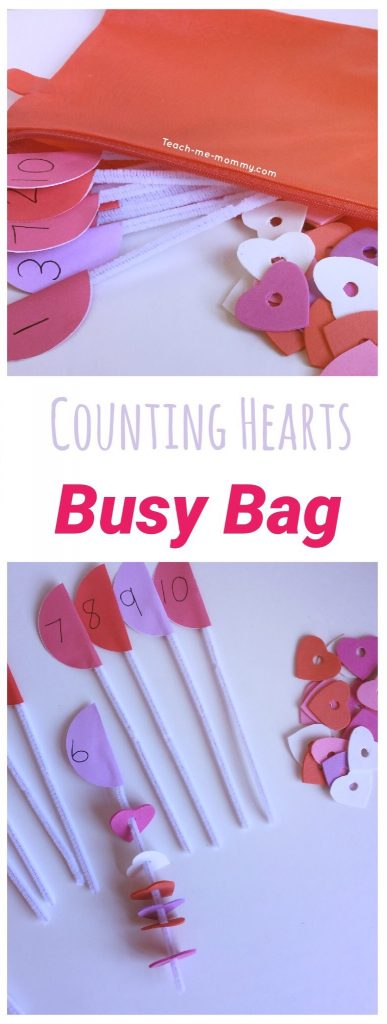 Counting Hearts Busy bag