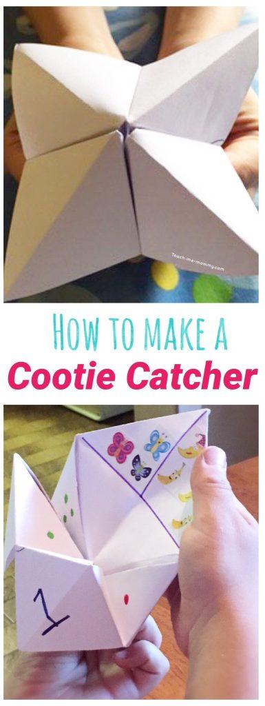 Cootie catcher