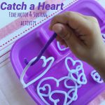 Catch a Heart Fine Motor & Sorting Activity