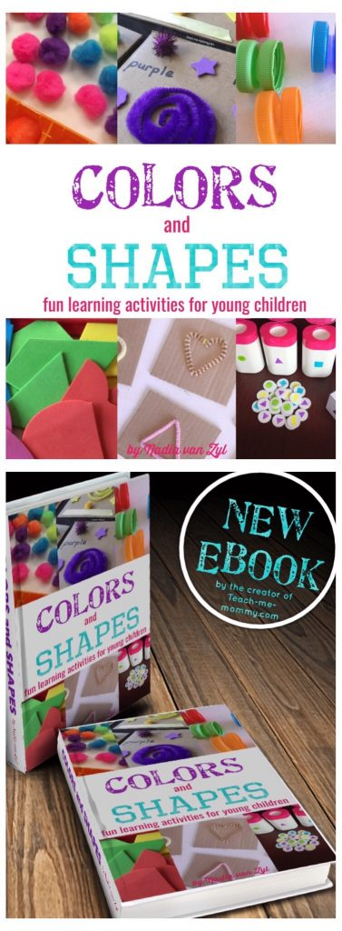 Color and shapes book