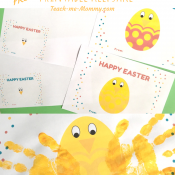 Easter chick printable