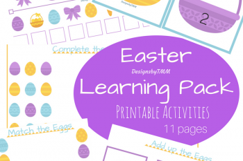 Easter Activities Printable Pack