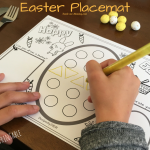 Easter Printable Placemat