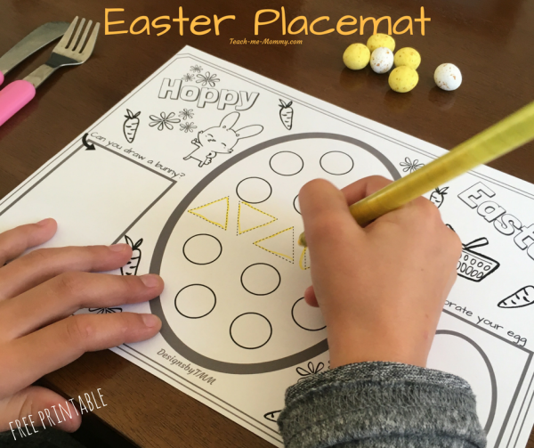 Easter Placemat fb