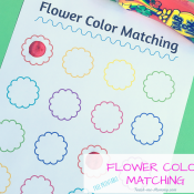 Flower color matching