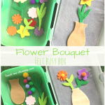 Flower Bouquet Busy Box