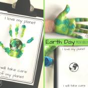 Earth Day keepsake