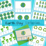 Earth Day count cards