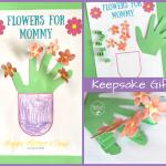 Flowers for Mommy Printable Keepsake