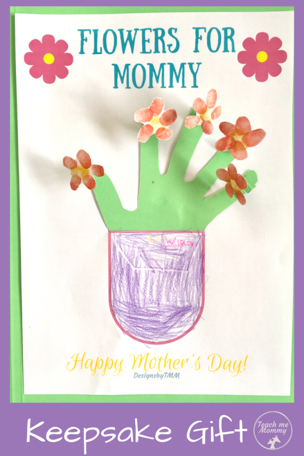 Flowers 4Mom pin